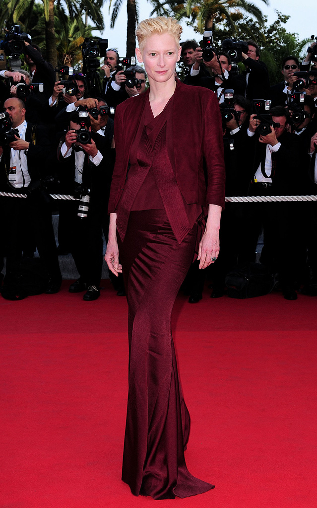 2009 Cannes Film Festival Tilda Swinton Up Premiere