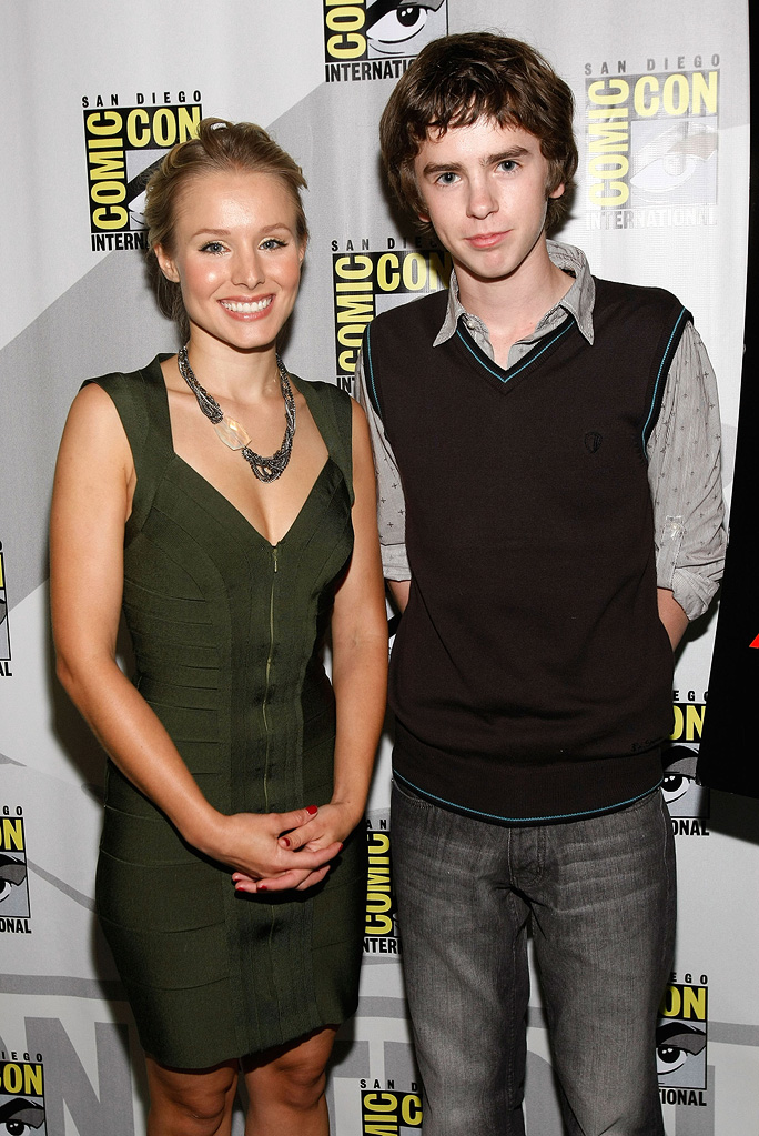 2009 Comic Con Astro Boy Panel Kristen Bell Freddie Highmore