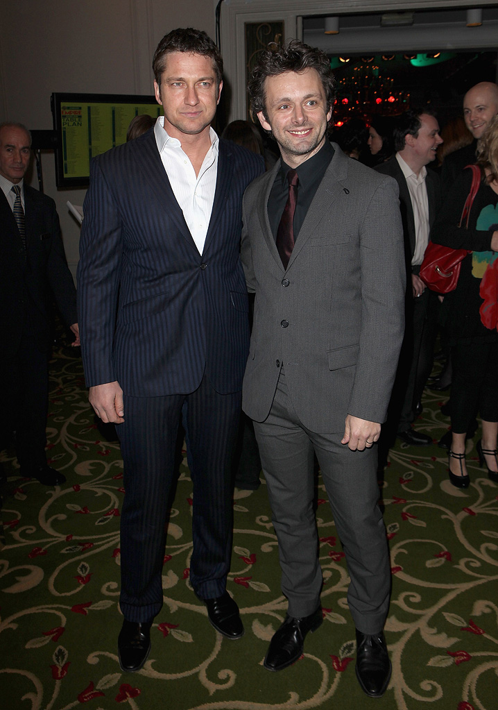 2009 Empire Awards UK Gerard Butler Michael Sheen