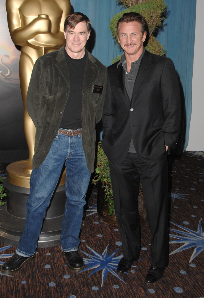 2009 Oscar Nominees Luncheon Gus Van Sant Sean Penn