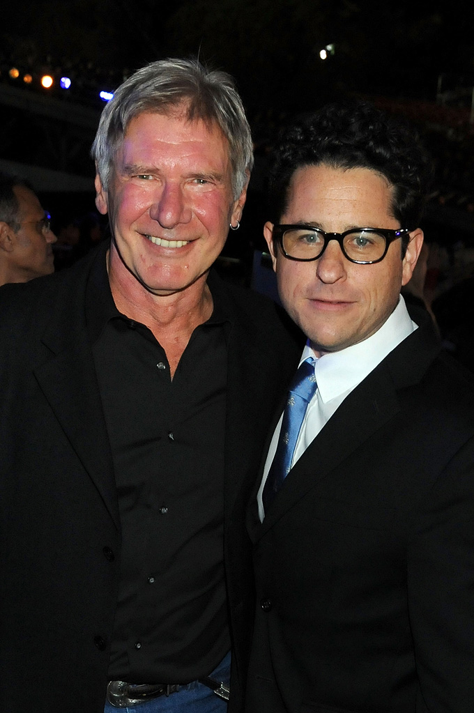 2009 Spike TV Scream Awards Harrison Ford JJ Abrams