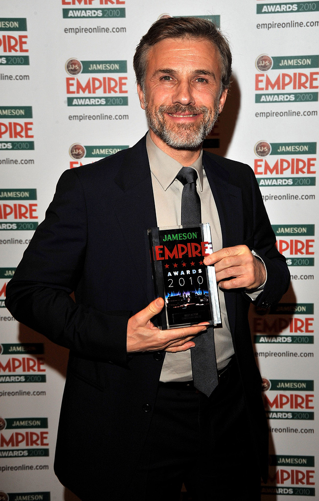 2010 Empire Film Awards Christoph Waltz