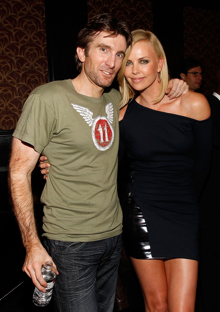 2010 Guys Choice Awards Sharlto Copley Charlize Theron