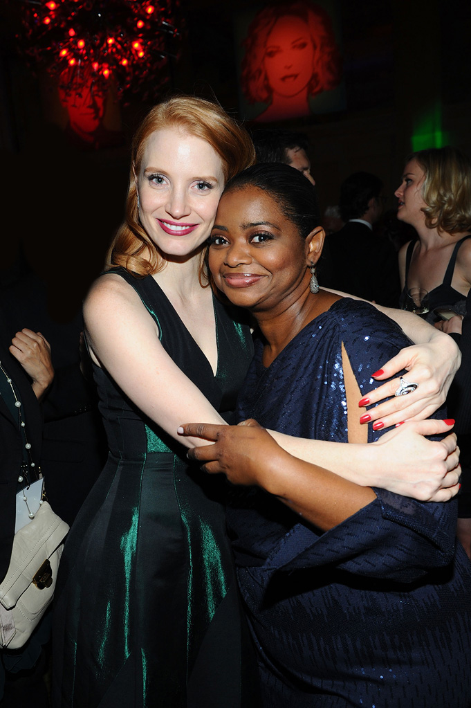 2012 Palm Springs Film Festival Awards Gala Jessica Chastain Octavia Spencer