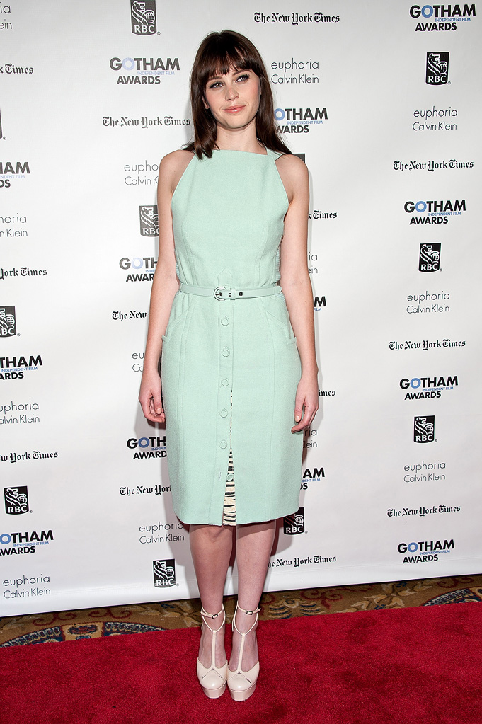 21st Annual Gotham Independent Film Awards 2011 felicity Jones