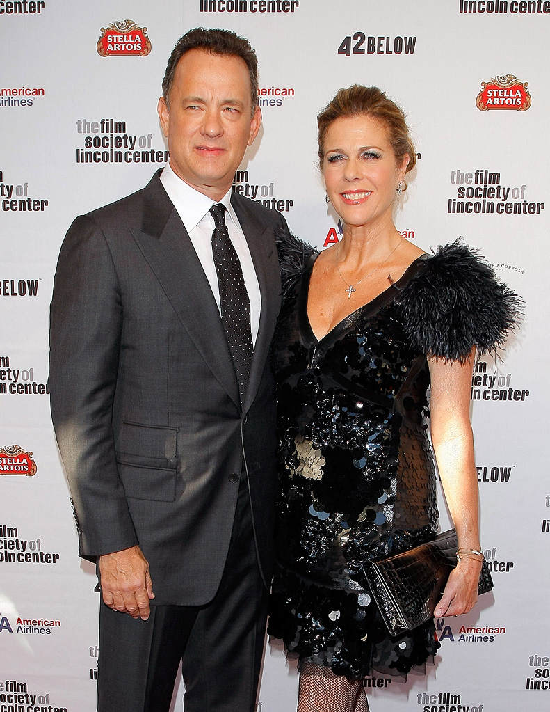 36th Film Society Of Lincoln Center's Gala Tribute 2009 Tom Hanks Rita Wilson