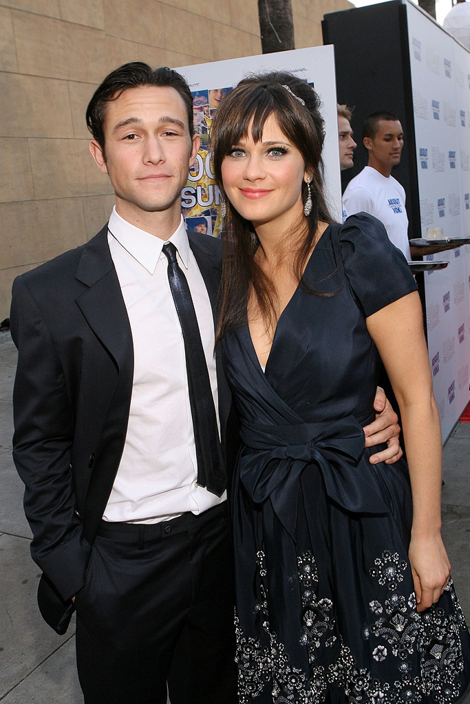 500 Days of Summer LA premiere 2009 Joseph Gordon Levitt Zooey Deschanel