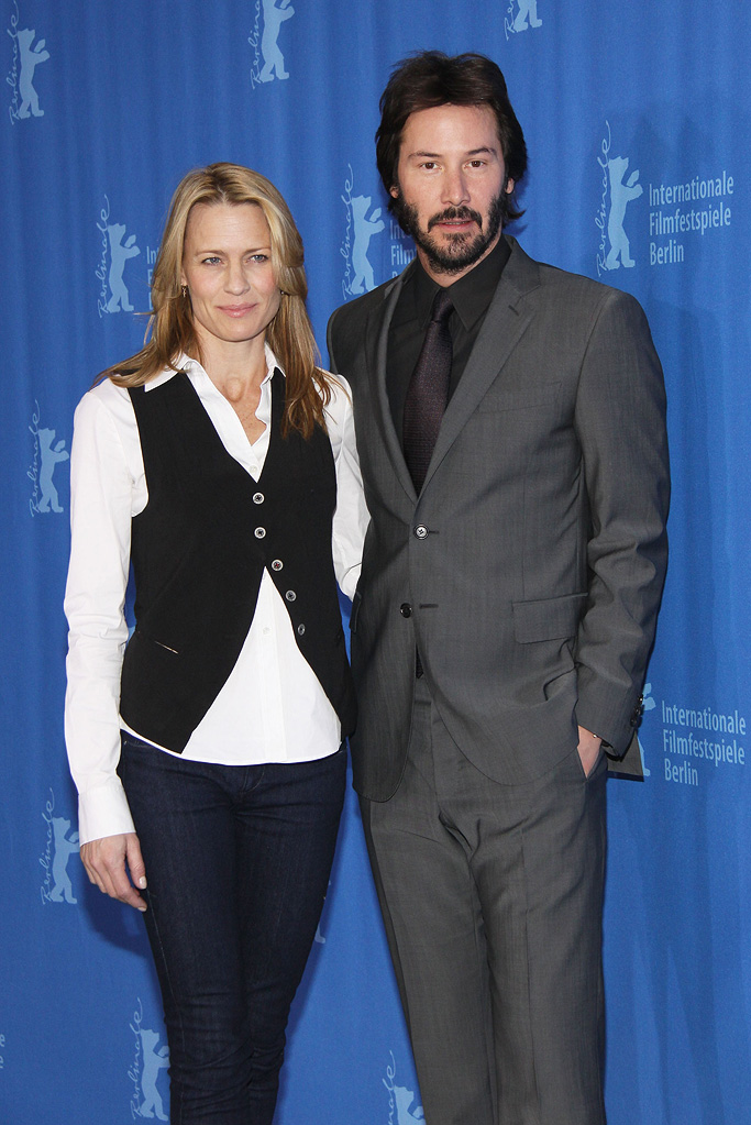 59th Annual Berlin Film Festival 2009 Robin Wright Penn Keanu Reeves