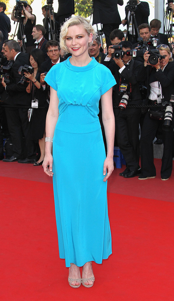 63rd Annual Cannes Film Festival 2010 Closing Ceremony Kirsten Dunst