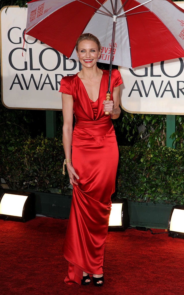 67th Annual Golden Globe Awards 2010 Cameron Diaz