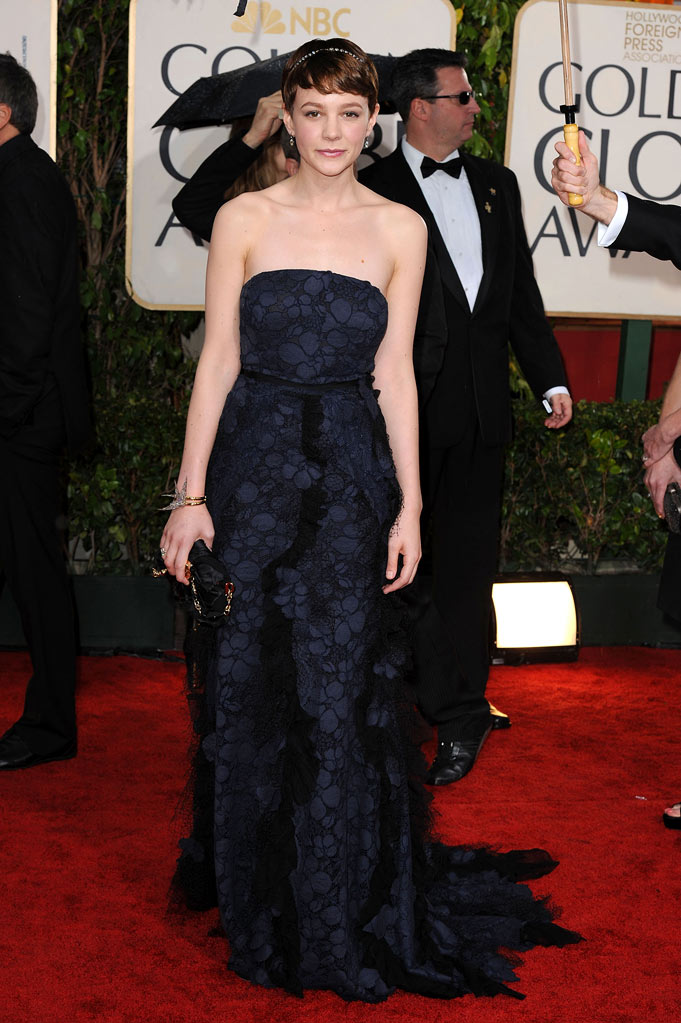 67th Annual Golden Globe Awards 2010 Carey Mulligan