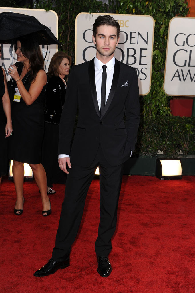 67th Annual Golden Globe Awards 2010 Chace Crawford