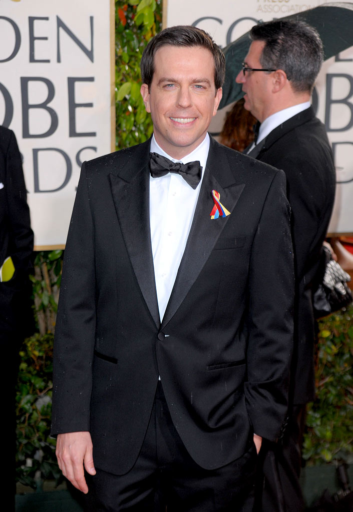 67th Annual Golden Globe Awards 2010 Ed Helms
