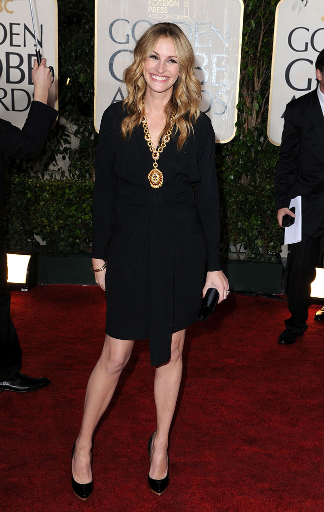 67th Annual Golden Globe Awards 2010 Julia Roberts
