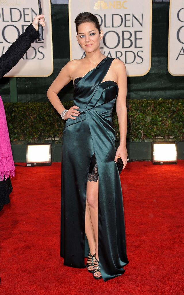 67th Annual Golden Globe Awards 2010 Marion Cotillard