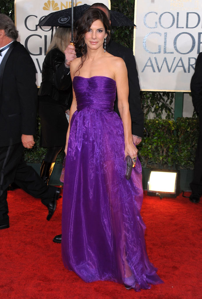 67th Annual Golden Globe Awards 2010 Sandra Bullock