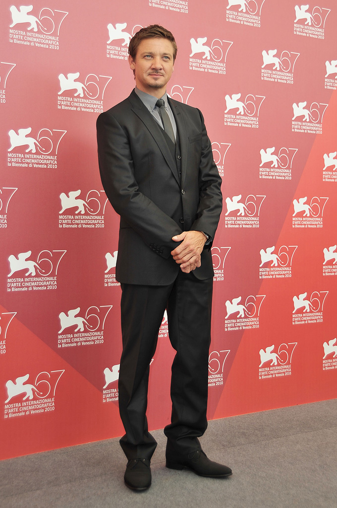 67th Annual Venice Film Festival 2010 Jeremy Renner