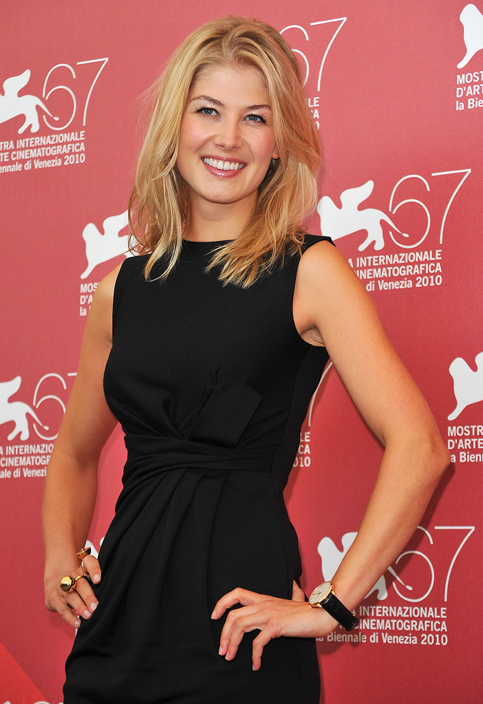67th Annual Venice Film Festival 2010 Rosamund Pike