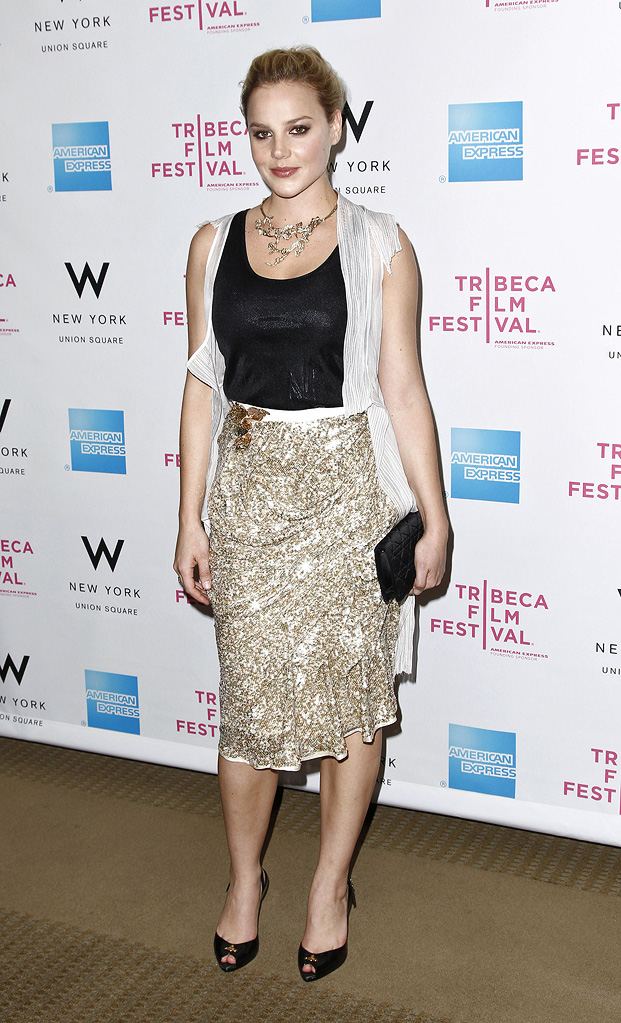 9th Annual Tribeca Film Festival 2010 Abbie Cornish