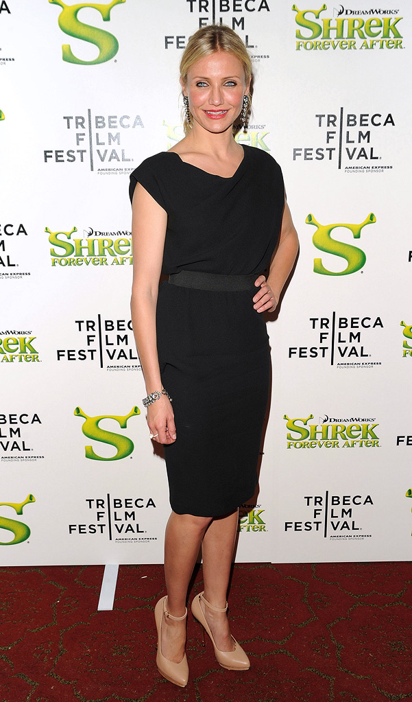 9th Annual Tribeca Film Festival Shrek Forever After Premiere 2010 Cameron Diaz