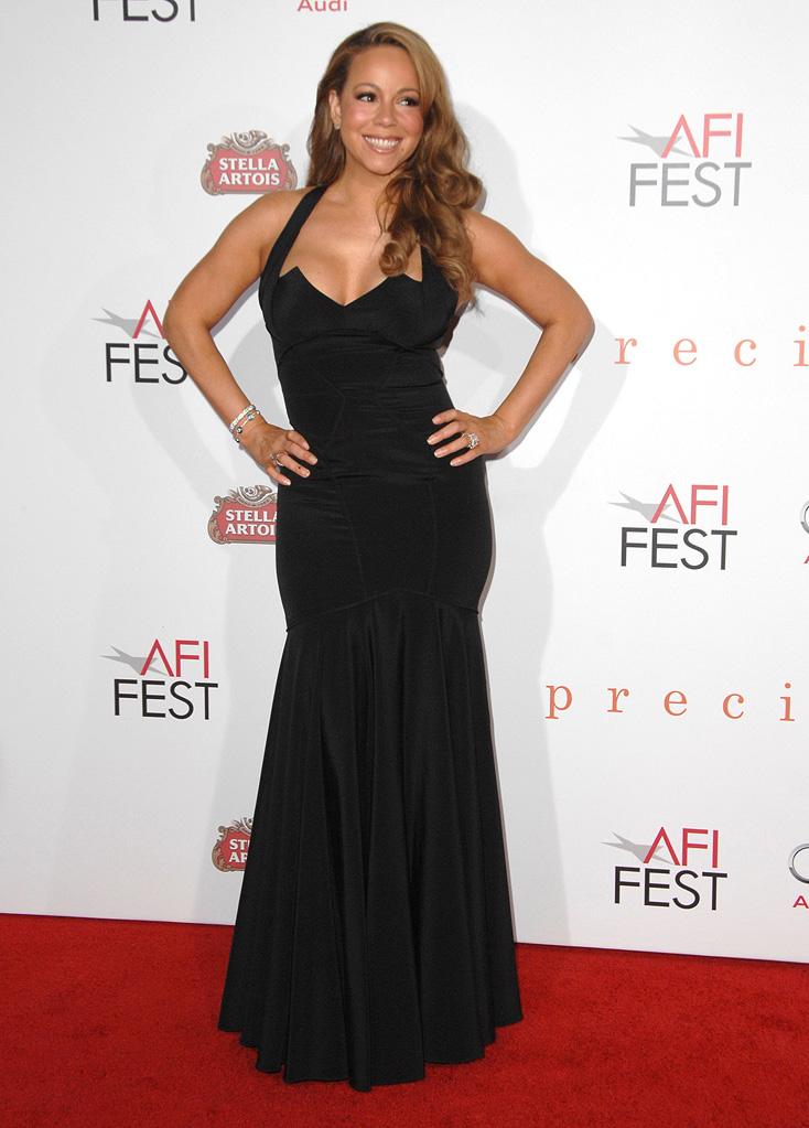AFI Fest 2009 Precious Screening Mariah Carey