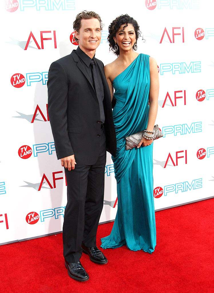 AFI Lifetime Achievement Awards Matthew McConaughey Camilla Alves