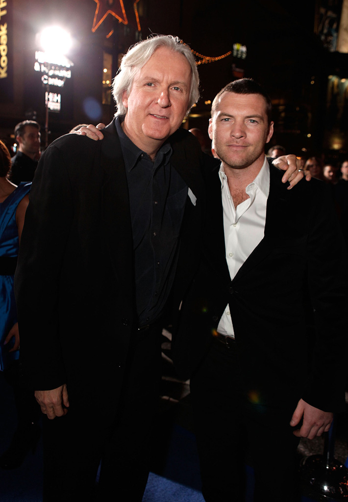 Avatar LA Premiere 2009 James Cameron Sam Worthington