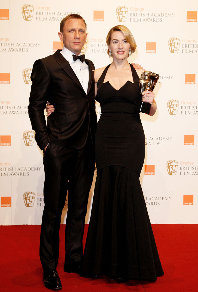 BAFTA Awards 2009 Daniel Craig Kate Winslet
