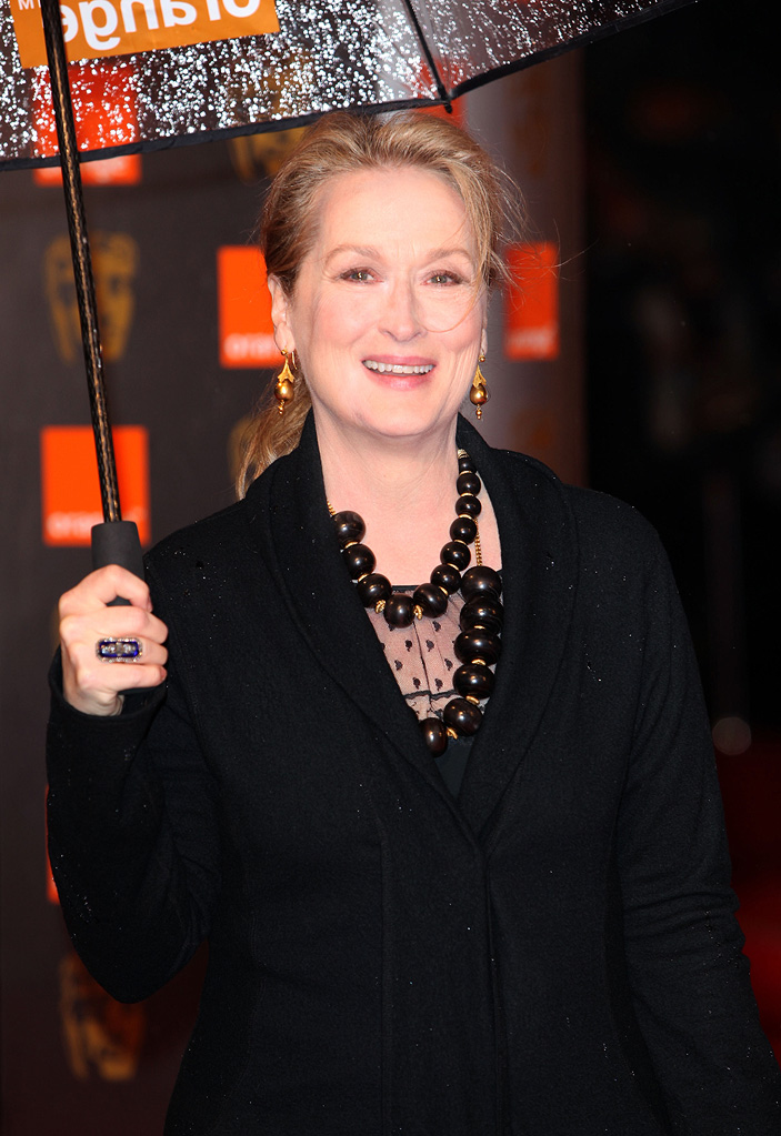 BAFTA Awards 2009 Meryl Streep