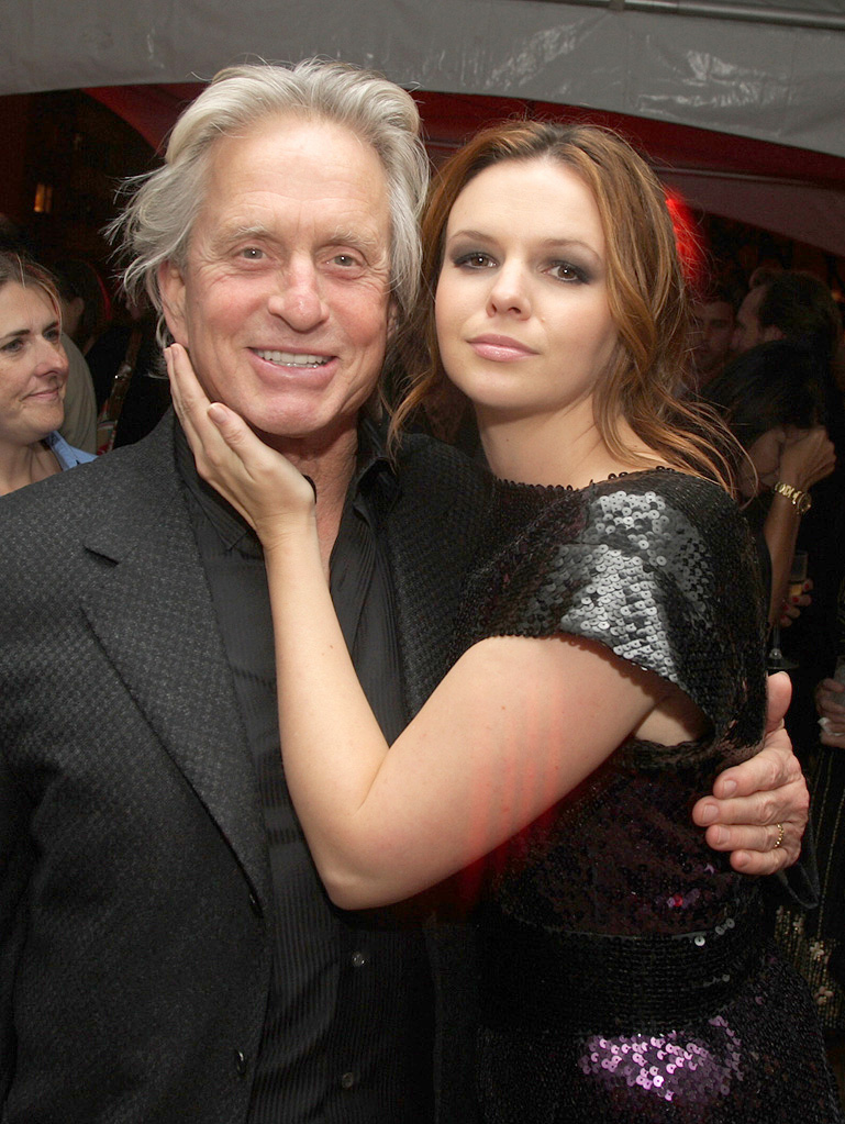 Beyond a Reasonable Doubt NY Premiere 2009 Michael Douglas Amber Tamblyn