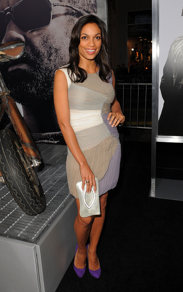 The Book of Eli LA Premiere 2010 Rosario Dawson