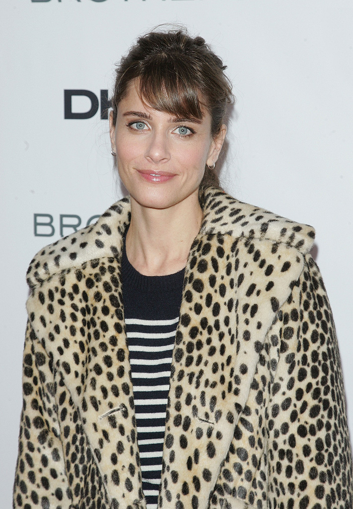 Brothers NYC Screening 2009 Amanda Peet