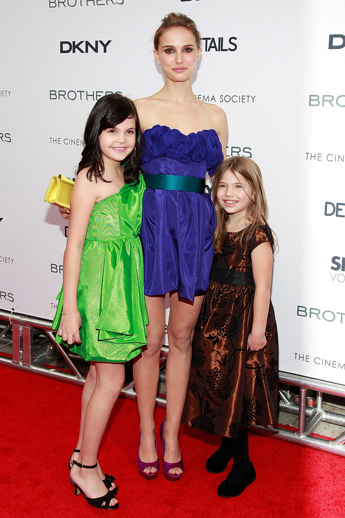 Brothers NYC Screening 2009 Bailee Madison Natalie Portman Taylor Geare