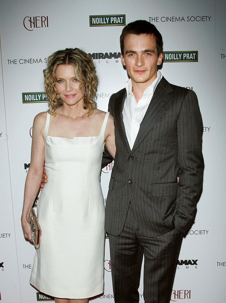 Cheri NY Screening 2009 Michelle Pfeiffer Rupert Friend
