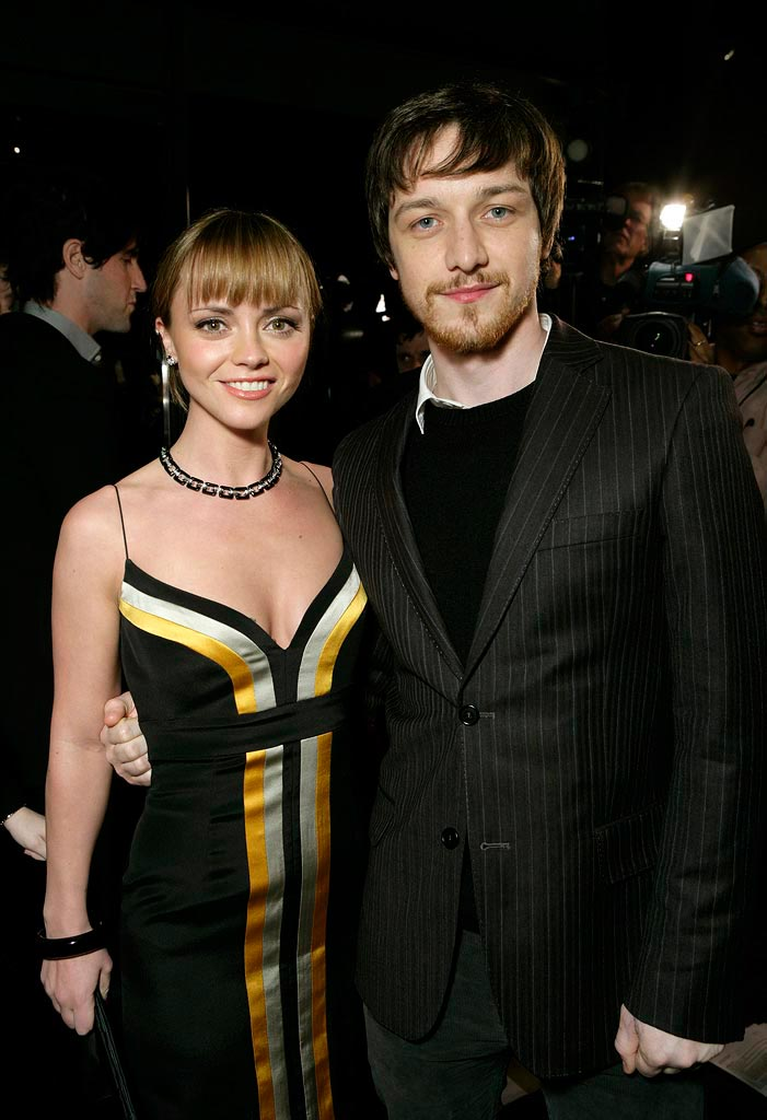 Christina Ricci James McAvoy 2008