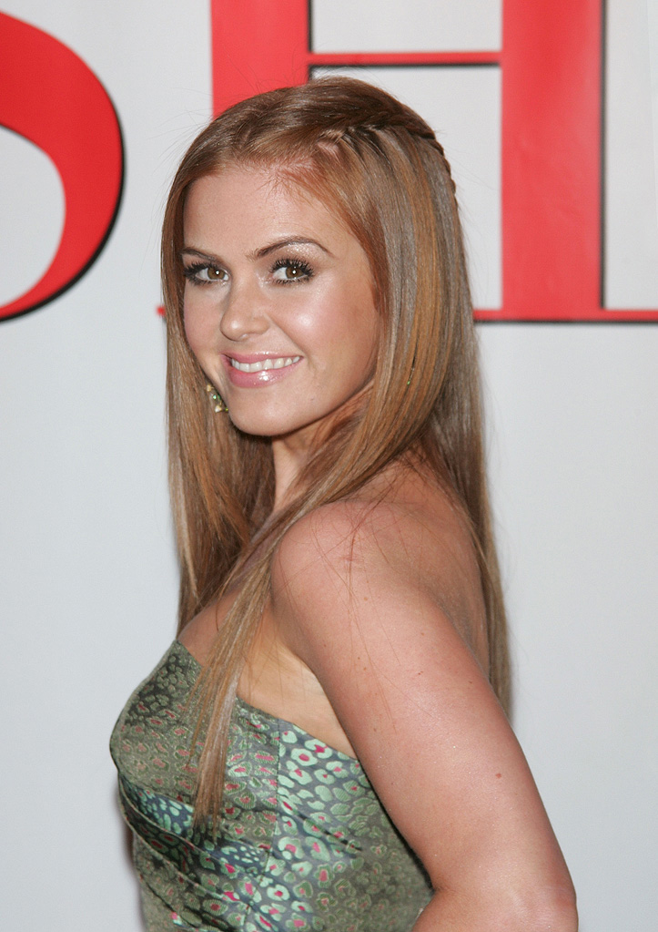 Confessions of a Shopaholic NY Premiere 2009 Isla Fisher