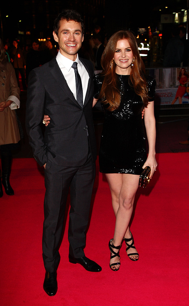 Confessions of a Shopaholic UK Premiere 2009 Isla Fisher Hugh Dancy