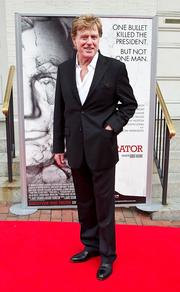 The Conspirator DC premiere 2011 Robert Redford
