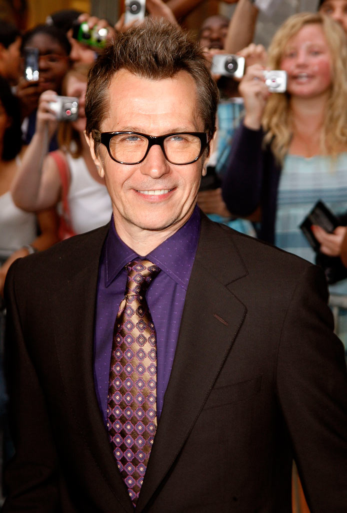 Dark Knight New York 2008 Premiere Gary Oldman