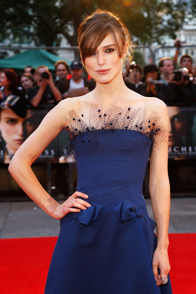 The Duchess UK Premiere 2008 Keira Knightley