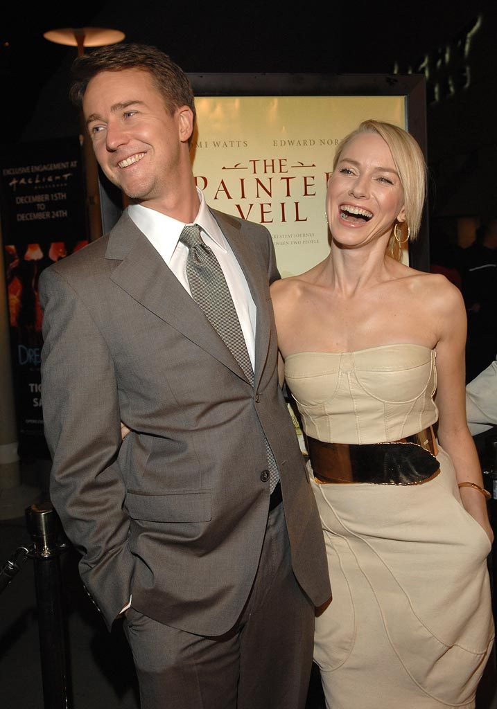 Edward Norton Naomi Watts 2006