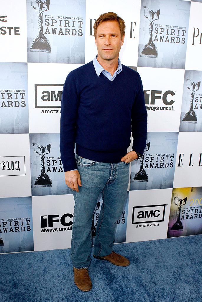 Film Independent's 2009 Independent Spirit Awards Aaron Eckhart