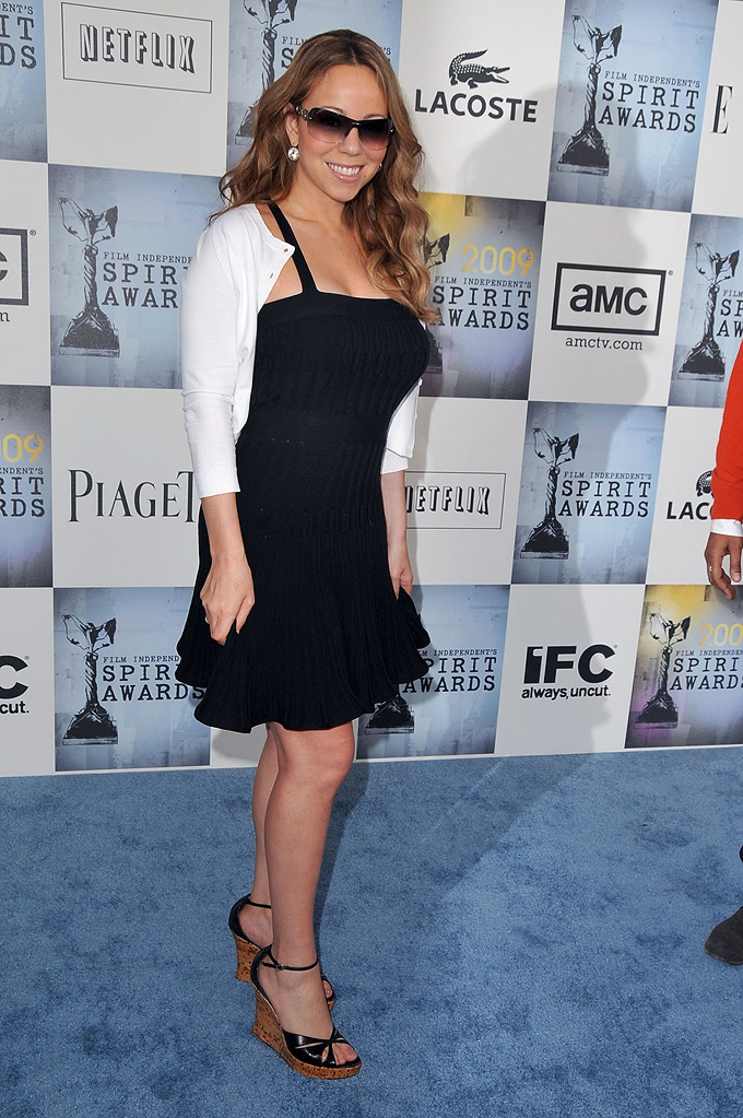 Film Independent's 2009 Independent Spirit Awards Mariah Carey