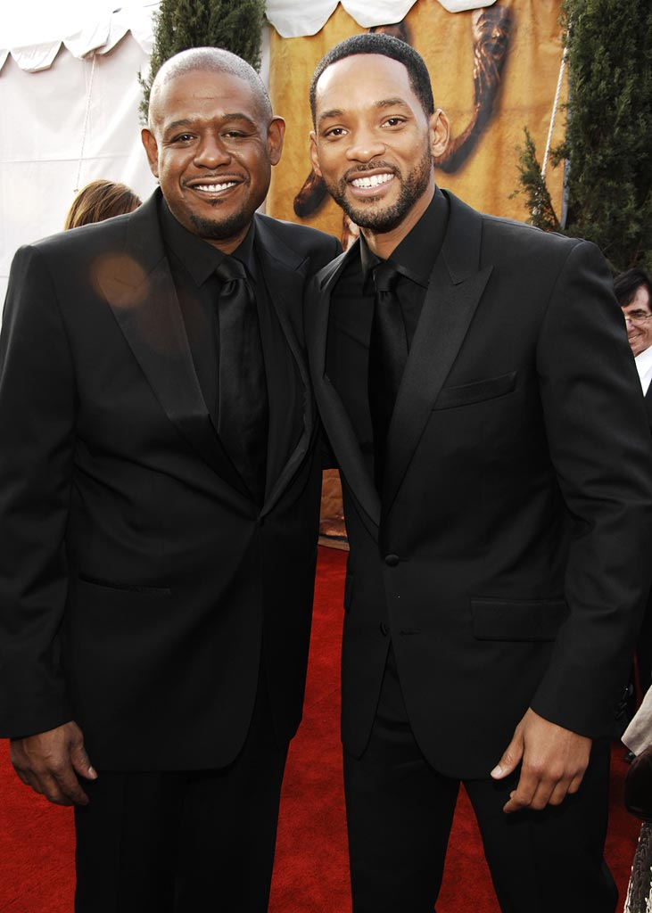 Forest Whitaker Will Smith 2007