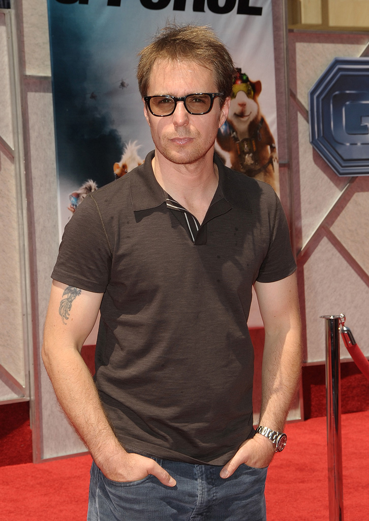 G-Force LA Premiere 2009 Sam Rockwell