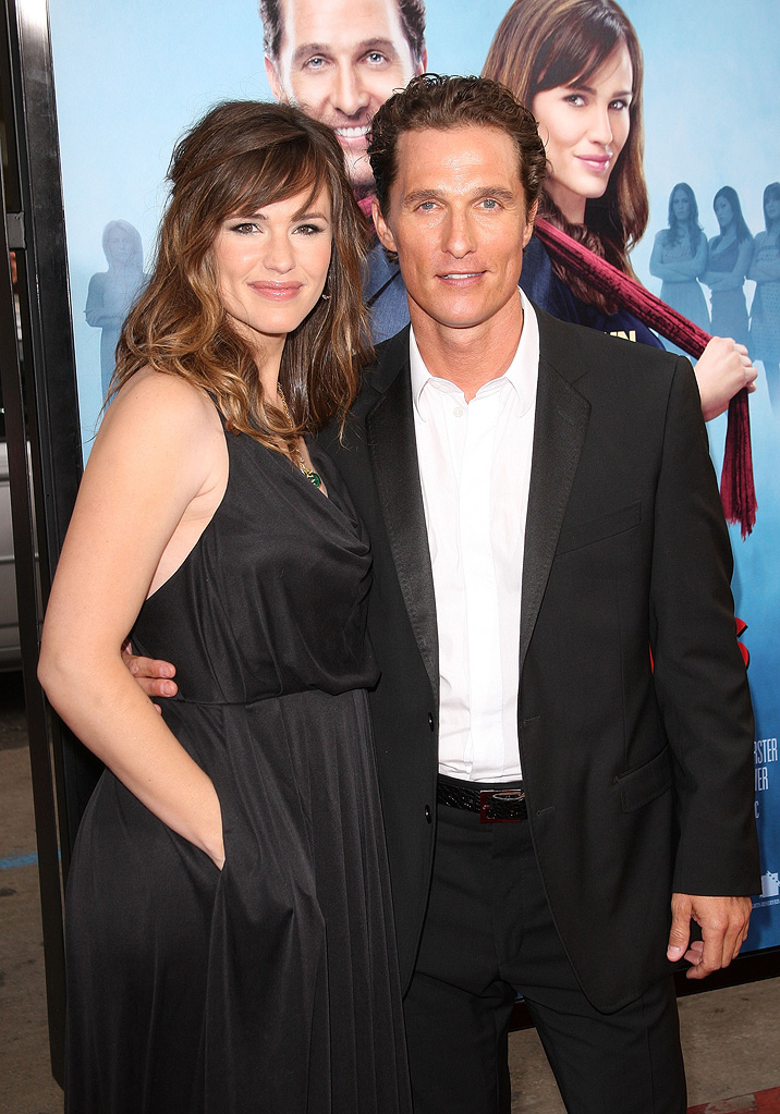 Ghosts of Girlfriends Past LA Premiere 2009 Jennifer Garner Matthew McConaughey