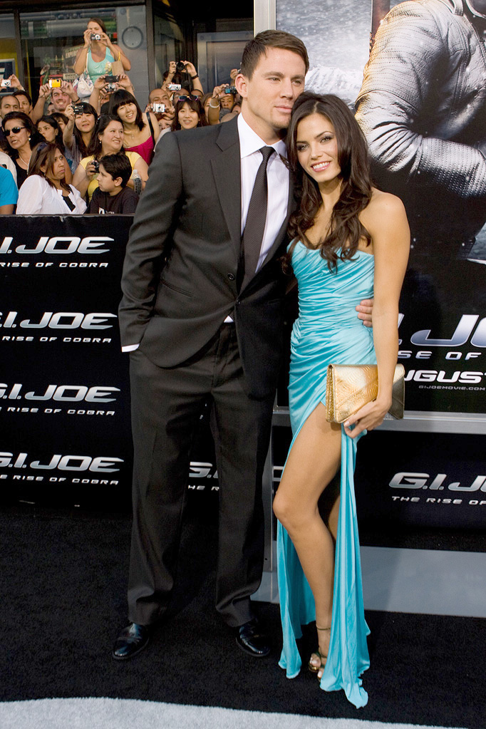 GI Joe Rise of the Cobra LA Premiere 2009 Channing Tatum Jenna Dewan