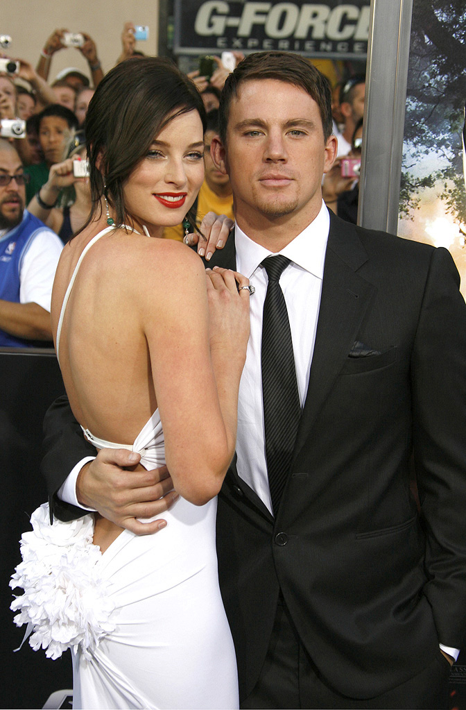 GI Joe Rise of the Cobra LA Premiere 2009 Rachel Nichols Channing Tatum