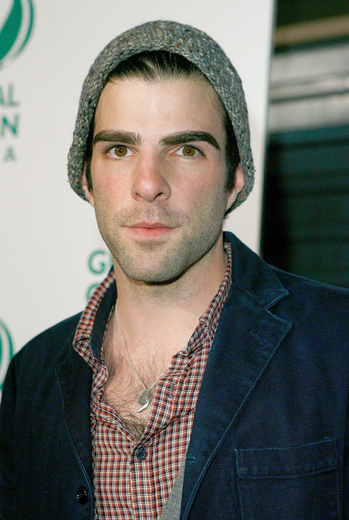 Global Green Pre Oscar Party 2009 Zachary Quinto