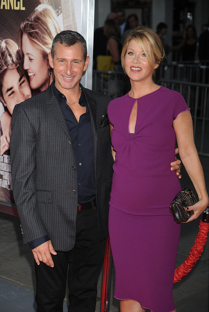 Going the Distance LA Premiere 2010 Adam Shankman Christina Applegate